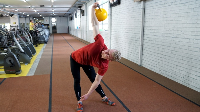 bent press kettlebell