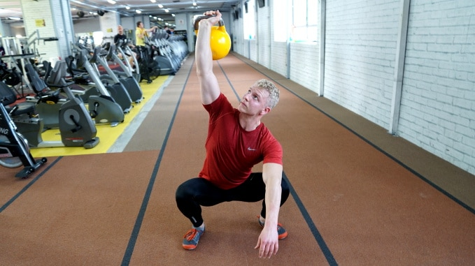 kettlebell complex sots press