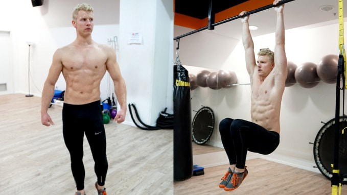 lower abs workout core exercise