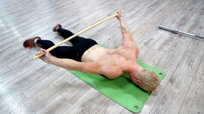 prone dislocations for shoulders