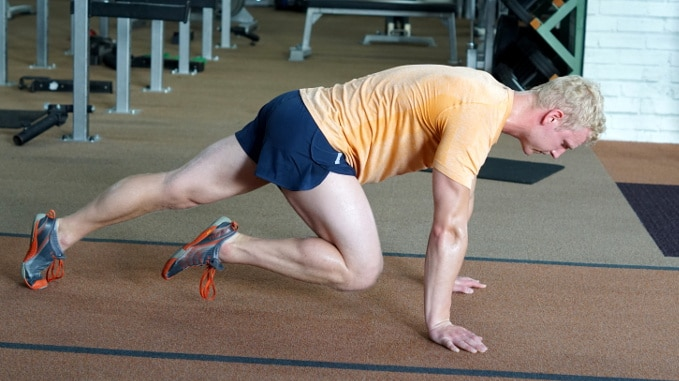 mountain climbers for abs and core