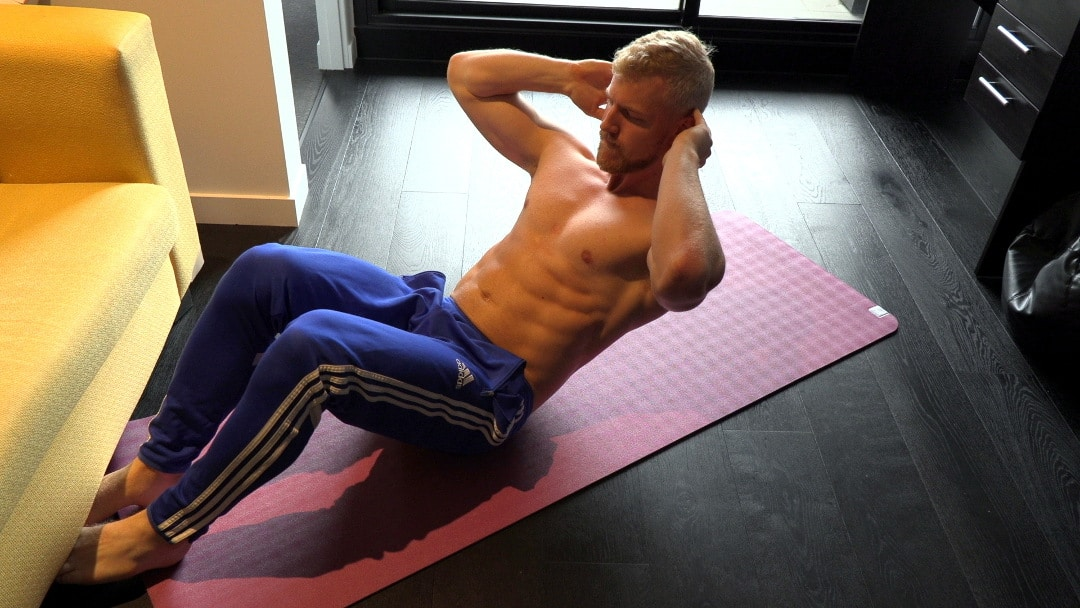 sit up abdominal exercise