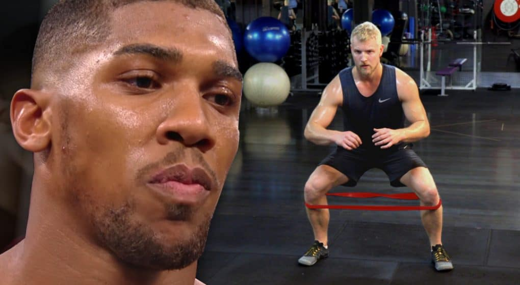 anthony joshua workout strength conditioning