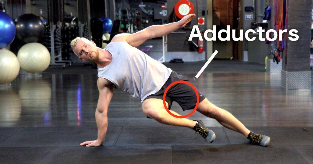 Adductor Plank - A Killer Inner Thigh Exercise - VAHVA Fitness