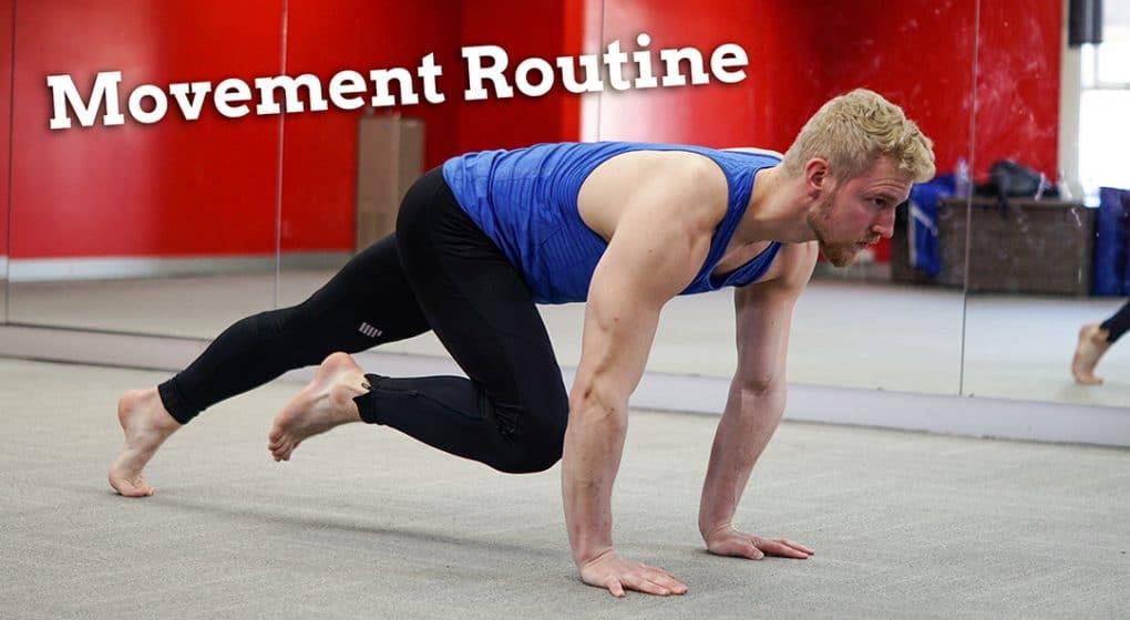 movement routine core whole body