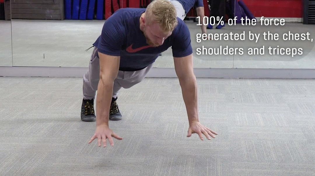 power push up precision training