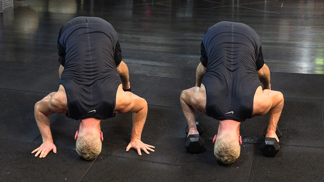 pike push up shoulder strength