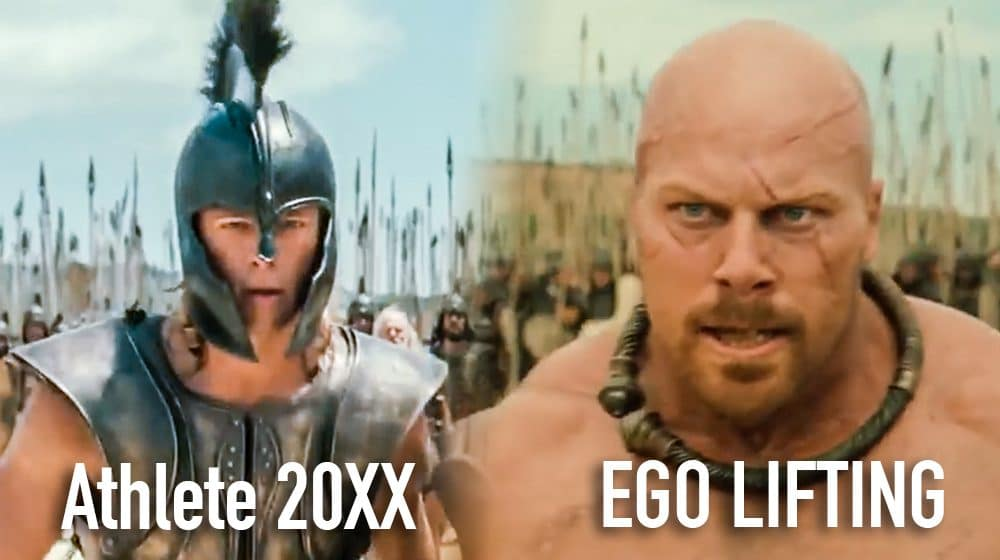 strength training vs ego lifting ego training