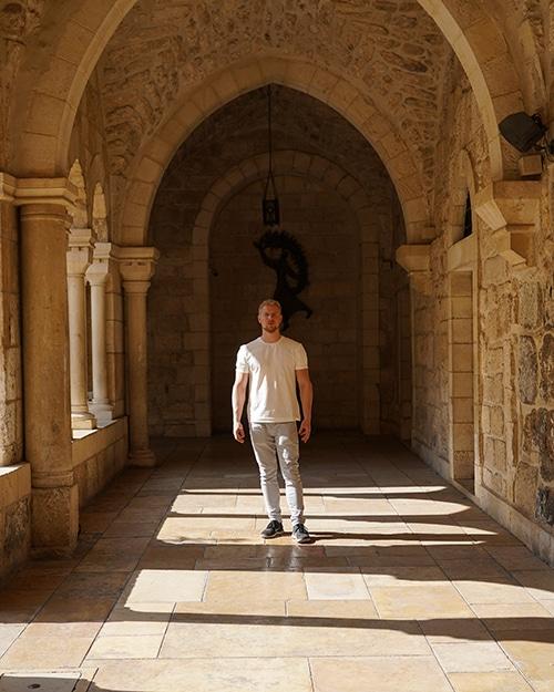 eero westerberg in bethlehem, palestine