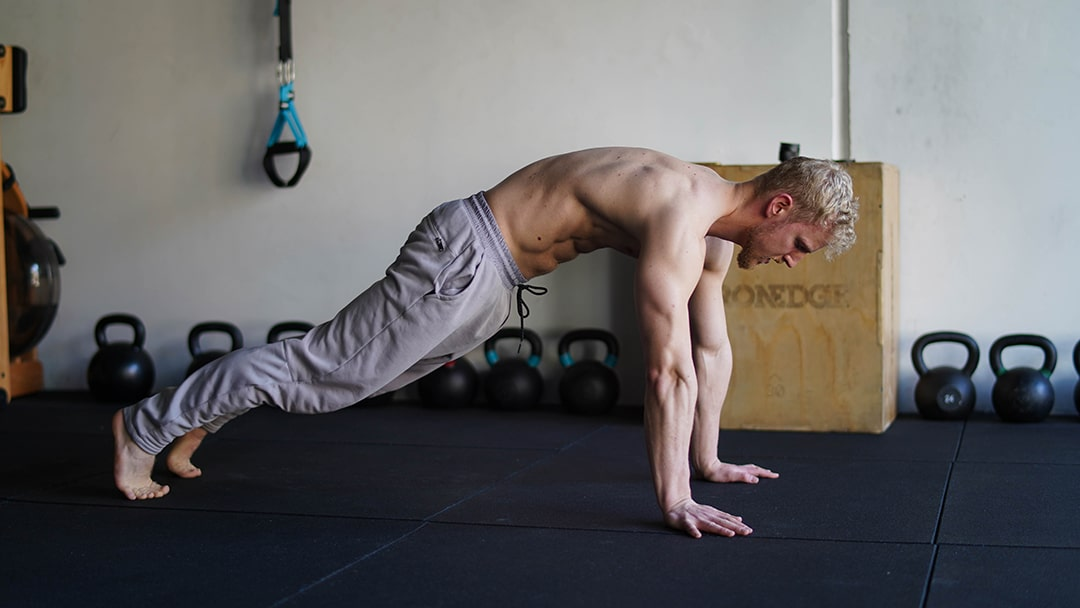 plank dip core lower abs exercise