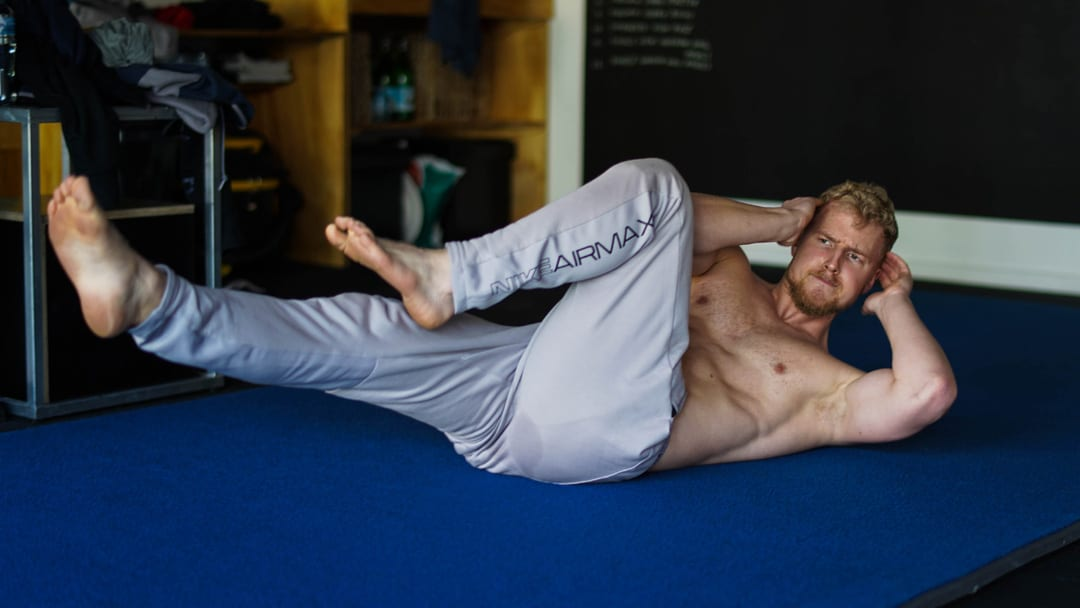 bicycle crunch abs core
