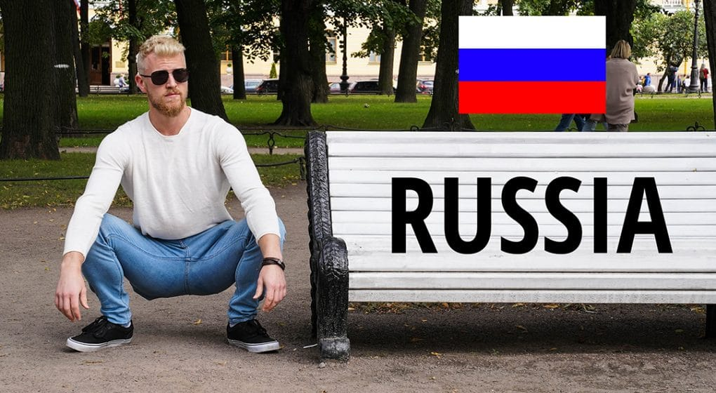 slav squatting in mother russia