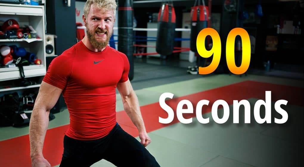 test your leg strength 90 seconds lunge