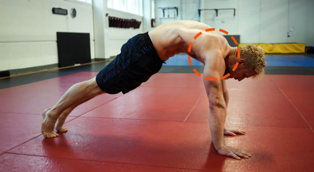 mobility and stability push ups