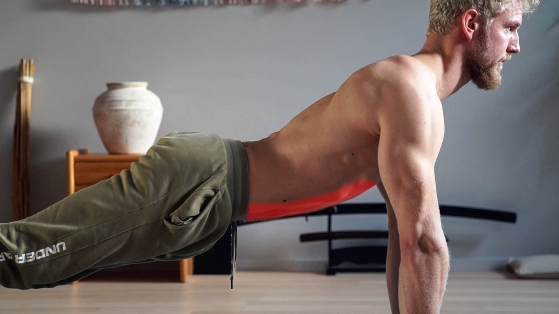 arched plank
