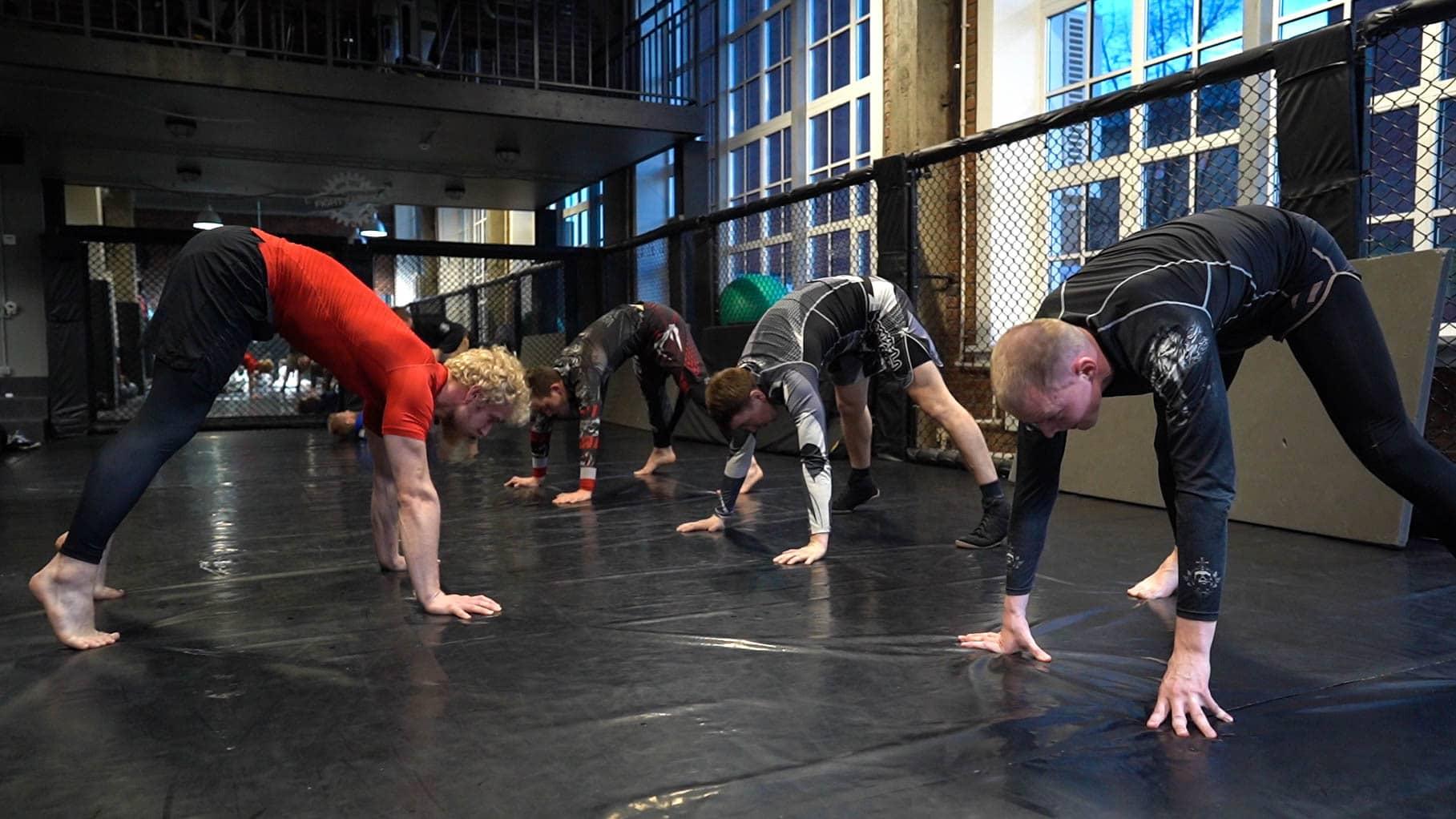 MMA training eero westerberg